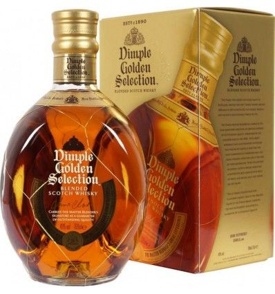 Dimple Golden Selection Whiskey 0,7l 40% Dárkové balení