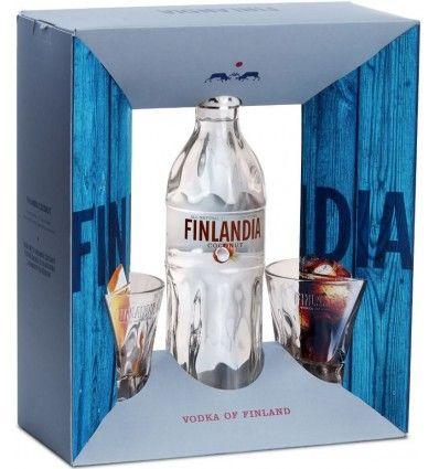 Finlandia Coconut 0,7l 37,5% + 2x sklo