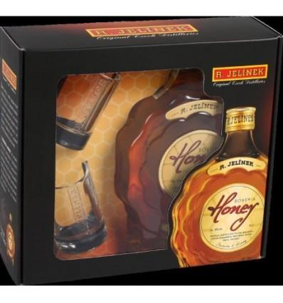 Bohemia Honey R. Jelínek 0,5l 35% +2x sklo