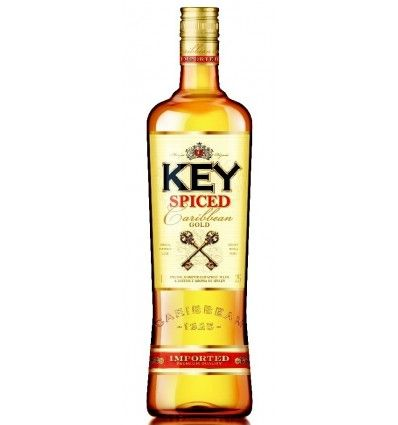 Key rum Spiced Gold 0,5l 35%