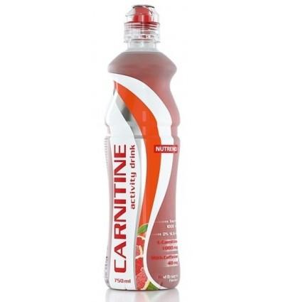 CARNITINE ACTIVITY DRINK ČERVENÝ POMERANČ 0,75L