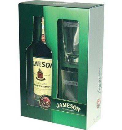 Jameson Irish Whiskey 0,7l 40% Dárkové balení + 2 skleničky