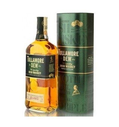 Tullamore Dew 0,7l 40% Dárkové balení - Plechová dóza