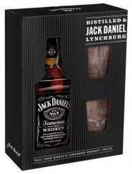 Jack Daniels 0,7l 40% + 2 skla