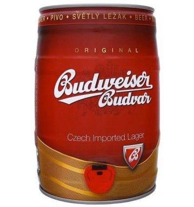 Budweiser Budvar Světlý ležák soudek 5l