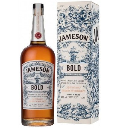 Jameson Bold Irish Whiskey 1l 40% Dárkové balení