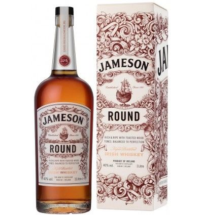 Jameson Round Irish Whiskey 1l 40%