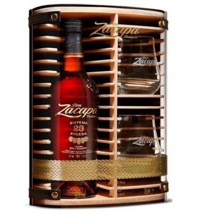 Zacapa Rum 23yo 40% 0,7l Dárkové balení + 2 skleničky