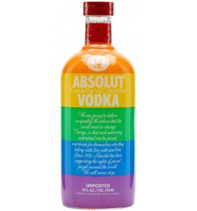 Absolut vodka Rainbow 0,7l 40%