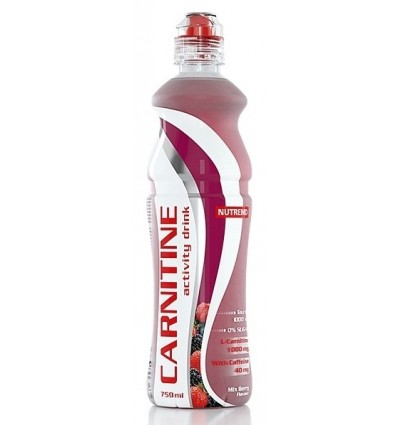 Nutrend Carnitine Activity Drink Mix Berry 750 ml