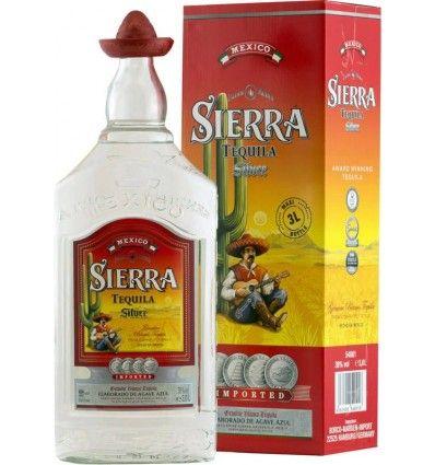 TEQUILA SIERRA SILVER 3L 38%