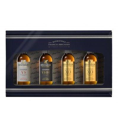 Reviseur Single Estate Cognac 3x mini 0,05l 40%