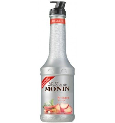 Monin Rhubarb - Rebarbora Pureé 1l