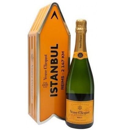 Veuve Clicquot Brut Arrow Box 0,75l 12% Istanbul