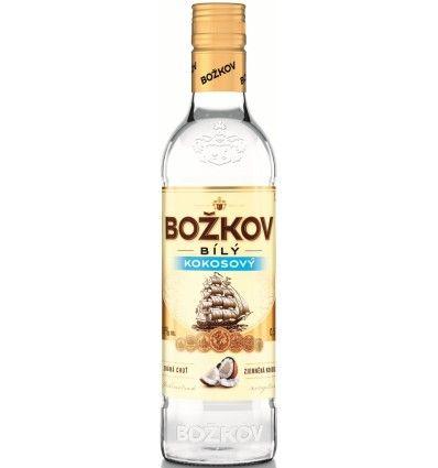 Božkov Bílý Kokos Rum 0,5l 30%