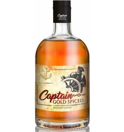 Captain Gold Spiced Rum 0,7l 35%