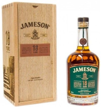 Jameson Irish Whiskey 18yo 0,7l 40% (dřevěný box)