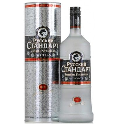 Russian Standard Original Vodka 1l 40% (tuba)