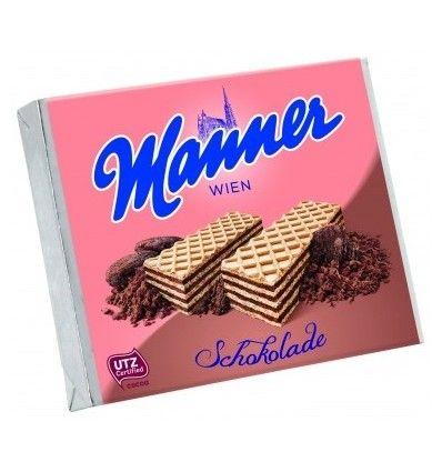 Manner oplatky s čokoládovým krémem 75g