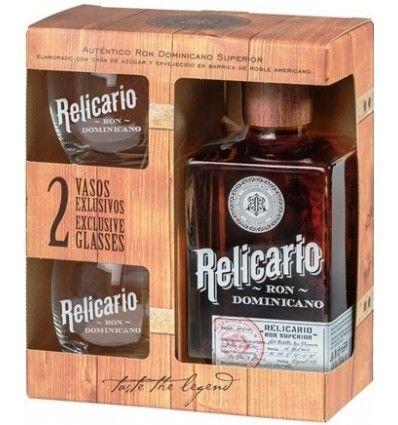 Relicario Superior Rum 0,7l 40% + 2 skla