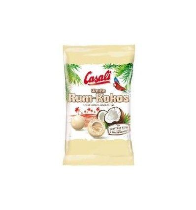 Casali Bílé bonbóny rum-kokos 100g