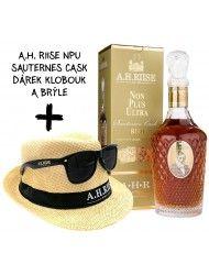 A.H. Riise NPU Sauternes 0,7l 42% + Klobouk a Brýle