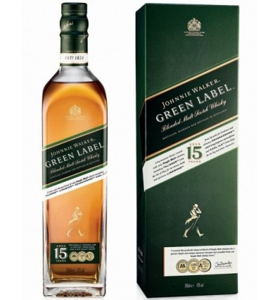 Johnnie Walker Green Label 15y 0,7l 43%