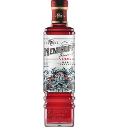 Nemiroff Wild Cranberry Vodka 0,7l 40%