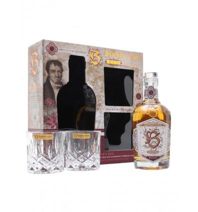 Bonpland Rum Rouge 0,5l 40% + 2x sklo