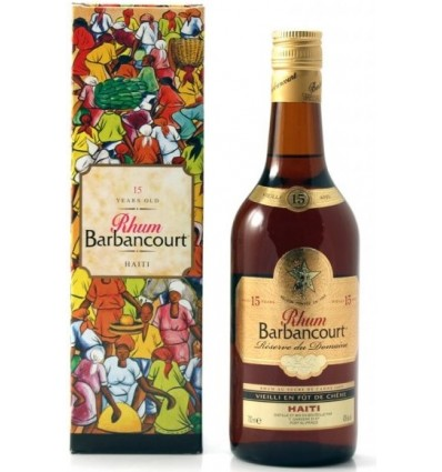 Barbancourt 15y 0,7l 43%