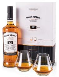 Bowmore 12y 0,7l 40% + 2x sklenička