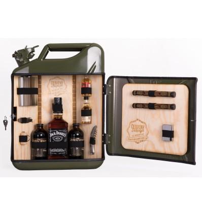 Dárkový kanystr Jack Daniels green