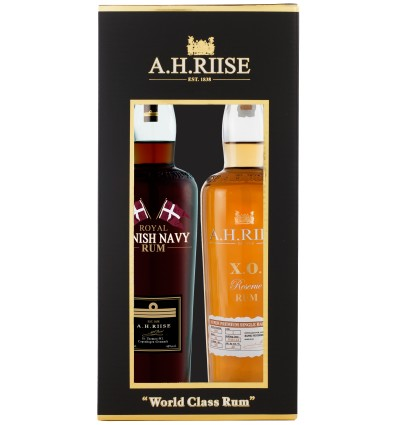A.H.Riise Duo Pack XO + Royal Danish Navy 2x 0,35l 40%