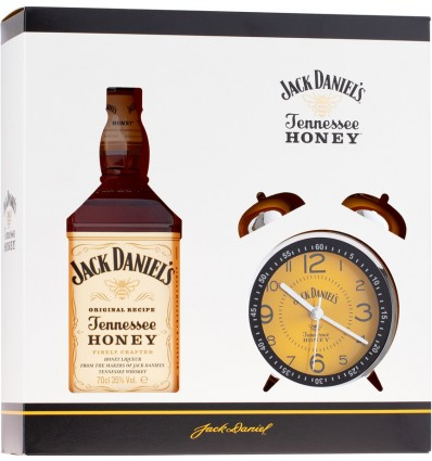 Jack Daniels Honey 0,7l 35% + Retro Budík