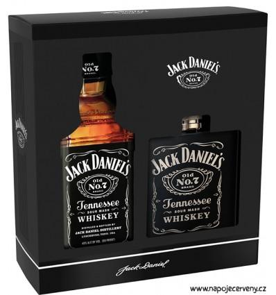 Jack Daniels 0,7l 40% + placatka