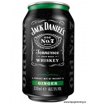 Jack Daniels Ginger 0,33l 5%