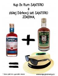 2x Rum Santero + Dárkový Set Santero ZDARMA