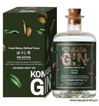 Komasa Hojicha Japanese Gin 0,5l 40%