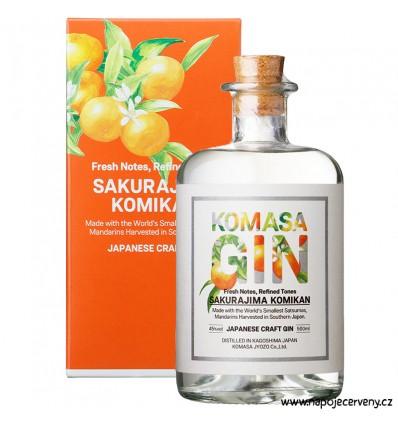 Komasa Komikan Japanese Gin 0,5l 40%