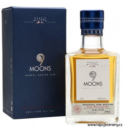 Martin Millers 9 Moons Gin 0,35l 40%