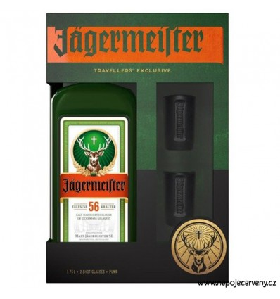 Jägermeister Party Pack 1,75l 35%