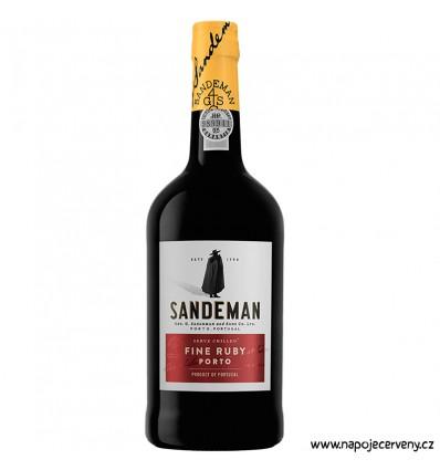 Porto Sandeman Ruby 0,75l 19,5%