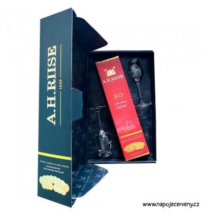 A. H. Riise Christmas 0,7 l 40% (dárkové balení 2 sklenice)
