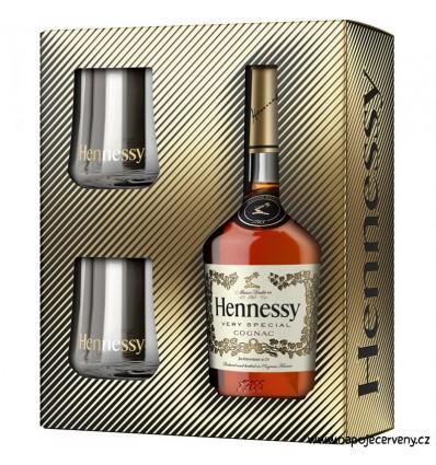 Hennessy VS Cognac 0,7l 40% 2 x sklo