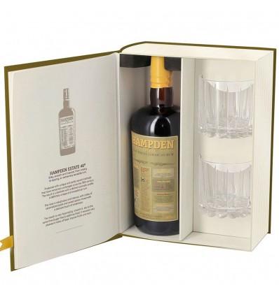 Hampden Estate 8y Rum 0,7l 40% + 2 skleničky
