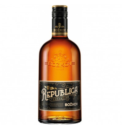 Božkov Republica Exclusive Rum 0,7l 38%