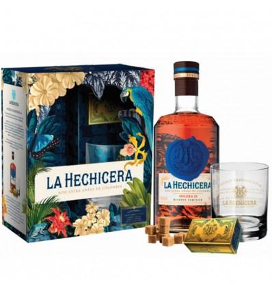 La Hechicera Rum 0,7l 40% + 1x sklo