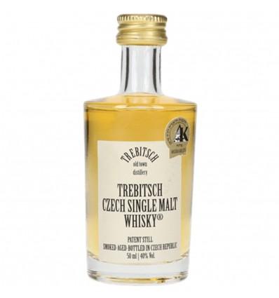 Trebitsch Czech Single Malt Whisky Miniatura 0,05l 40%