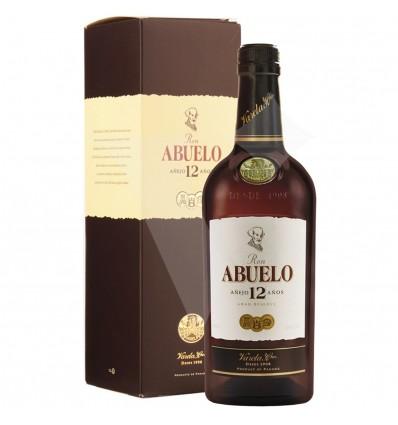 Ron Abuelo Anejo 12y 0,7l 40%