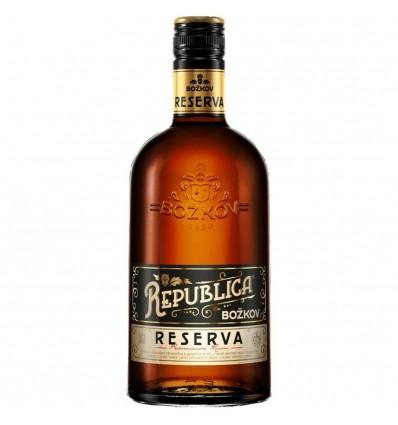 Božkov Republica Reserva Rum 0,7l 40%